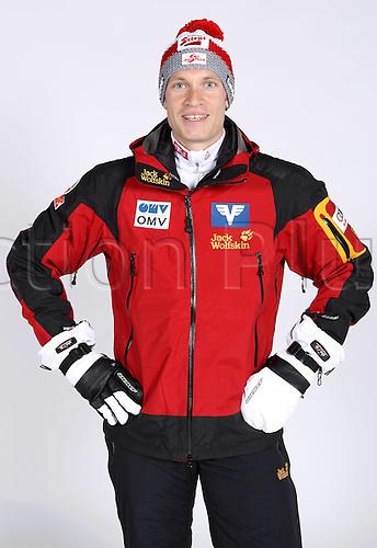 16.10.2010  Winter sports OSV Einkleidung Innsbruck Austria. Ski Nordic Ski jumping OSV Austrian Ski Federation. Picture shows Head coach Gerald Daringer AUT