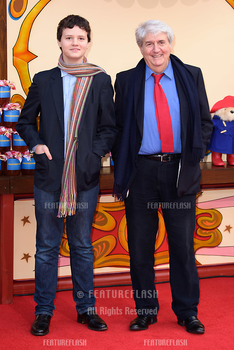 Tom Conti at the &quot;Paddington 2&quot; premiere at the NFT South Bank, London, UK. <br /> 05 November  2017<br /> Picture: Steve Vas/Featureflash/SilverHub 0208 004 5359 sales@silverhubmedia.com