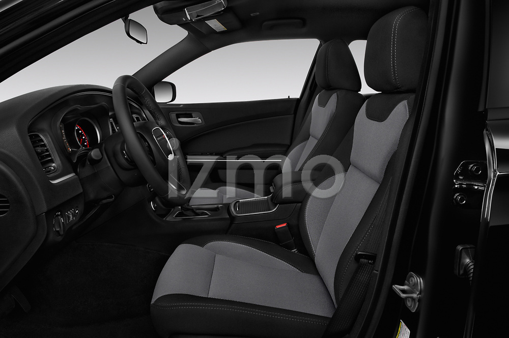Front seat view of a 2018 Dodge Charger SXT 4 Door Sedan front seat car photos