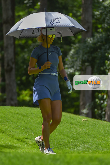 Michelle Wie (USA) heads down 2 during round 3 of the U.S. Women's Open Championship, Shoal Creek Country Club, at Birmingham, Alabama, USA. 6/2/2018.<br /> Picture: Golffile | Ken Murray<br /> <br /> All photo usage must carry mandatory copyright credit (© Golffile | Ken Murray)