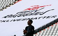 13th June 2020, Allianz Erena, Munich, Germany; Bundesliga football, Bayern Munich versus Borussia Moenchengladbach; Goalkeeper Manuel NEUER of Bayern looks up at the empty stands