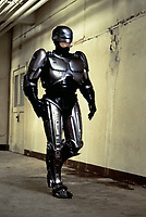 RoboCop (1987) <br /> Peter Weller<br /> *Filmstill - Editorial Use Only*<br /> CAP/KFS<br /> Image supplied by Capital Pictures