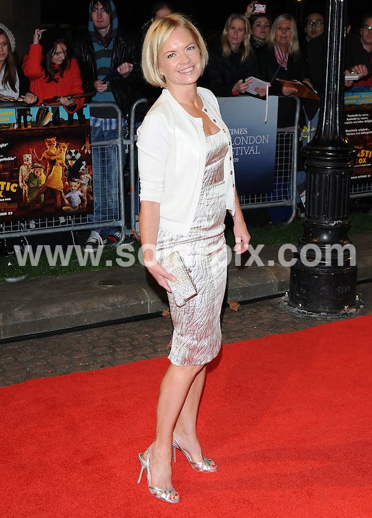**ALL ROUND PICTURES FROM SOLARPIX.COM**.**WORLDWIDE SYNDICATION RIGHTS**.the World Premiere of Fantastic Mr Fox and the Opening Gala ofThe Times BFI London Film Festival at the Odeon Leicester Square, London, UK. 14 October 2009..This pic: Mariella Frostrup..JOB REF: 10123 SSD     DATE: 14_10_2009.**MUST CREDIT SOLARPIX.COM OR DOUBLE FEE WILL BE CHARGED**.**MUST NOTIFY SOLARPIX OF ONLINE USAGE**.**CALL US ON: +34 952 811 768 or LOW RATE FROM UK 0844 617 7637**