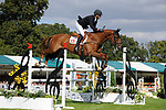 Stamford, Lincolnshire, United Kingdom, 8th September 2019, Tim Price (NZL) & Bango during the Show Jumping Phase on Day 4 of the 2019 Land Rover Burghley Horse Trials, Credit: Jonathan Clarke/JPC Images