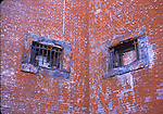 Brick walls at Fort Point in San Francisco