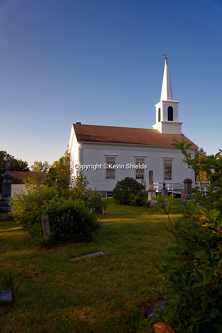 Ridge Church, St. George, Maine, USA