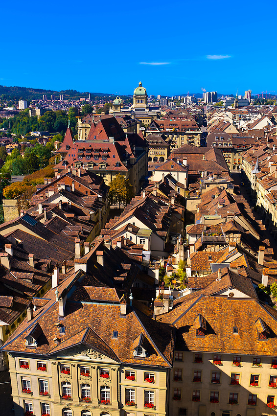 Medieval city center of Bern, Canton Bern, Switzerland