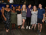 Broadway Debut cas members during the Broadway Opening Night Performance Actors' Equity Legacy Robe honoring Justin Prescott at the Hudson Theatre on July 26, 2018 in New York City.