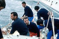 Éric Tabarly sur Pen Duick III, 1968