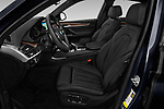 Front seat view of a 2019 BMW X6 35i 5 Door SUV front seat car photos