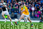 Paul O'Sullivan South Kerry in action against  Legion at the Kerry County Senior Football Final at Fitzgerald Stadium on Sunday.