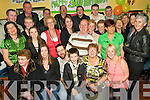 Surprise - Anthony Scannell from Abbyfeale, seated centre having a ball with family and friends at his surprise 30th birthday party held in Donal & Ann's Pub, Abbyfeale on Saturday night.