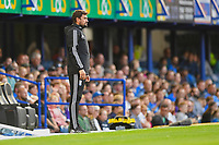 Birmingham City Manager Pep Clote   watches play during Portsmouth vs Birmingham City, Caraboa Cup Football at Fratton Park on 6th August 2019