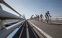 Edvald Boasson Hagen (NOR/Dimension Data) setting the pace<br /> <br /> 12th Eneco Tour 2016 (UCI World Tour)<br /> Stage 6: Riemst › Lanaken (185km)