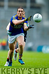 Stephen O'Brien Kerry in action against Donal Vaughan Mayo in the All Ireland Semi Final in Croke Park on Sunday.