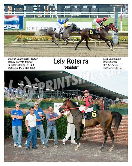 Lely Roterra winning at Delaware Park on 8/19/06