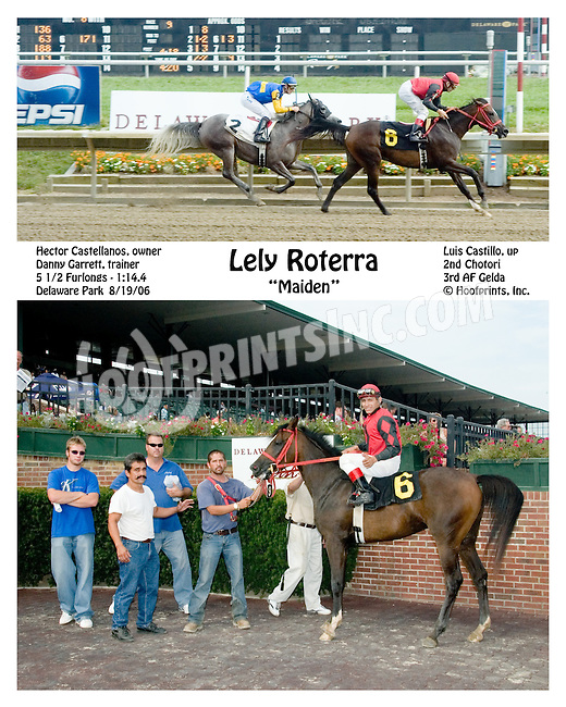 Lely Roterra winning at Delaware Park on 8/19/06