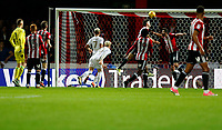 GOAL - EzgjanAlioski of Leeds United levels the scores during the Sky Bet Championship match between Brentford and Leeds United at Griffin Park, London, England on 4 November 2017. Photo by Carlton Myrie.