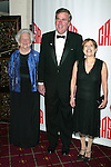 Barbara Bush with son Governor Jeb Bush and his wife Columbia Bush attend CASA'S Eleventh Anniversary Awards Dinner Honors American Leadership in Combating <br /> Substance Abuse. Waldorf Astoria Hotel, NYC.<br /> April 2, 2003
