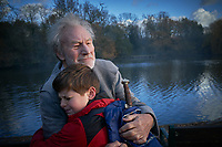 Patrick Stewart and Louis Ashbourne Serkis <br /> The Kid Who Would Be King (2019) <br /> *Filmstill - Editorial Use Only*<br /> CAP/RFS<br /> Image supplied by Capital Pictures