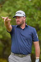 Graeme McDowell (NIR) looks over his tee shot on 2 during day 1 of the Valero Texas Open, at the TPC San Antonio Oaks Course, San Antonio, Texas, USA. 4/4/2019.<br /> Picture: Golffile   Ken Murray<br /> <br /> <br /> All photo usage must carry mandatory copyright credit (&copy; Golffile   Ken Murray)