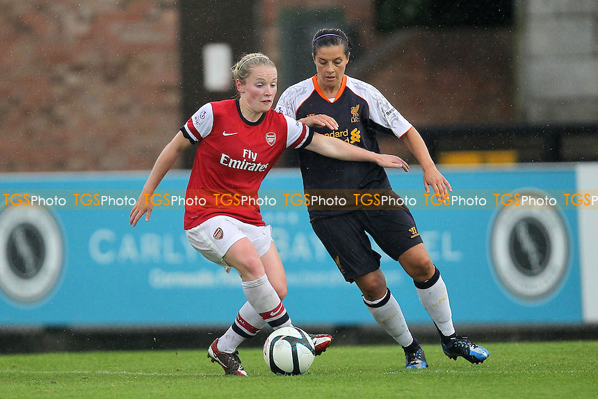Kim Little in action for Arsenal - Arsenal Ladies vs Liverpool Ladies - FA Womens Super League Football at Boreham Wood FC - 23/09/12 - MANDATORY CREDIT: Gavin Ellis/TGSPHOTO - Self billing applies where appropriate - 0845 094 6026 - contact@tgsphoto.co.uk - NO UNPAID USE.