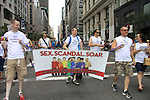 Empire The Series, the Internet's Hottest Soap Opera Returns This Summer 2012 for its 4th season - Sex.Scandal.Soap. - Fritz Brekeller and cast members of Empire The Series march in the NYC Gay Pride Parade 2012 on June 24, 2012 marches from Fifth Avenue and 38 to the Village, New York City, New York. Ceck them out at Empiretheseries.com (Photo by Sue Coflin/Max Photos)