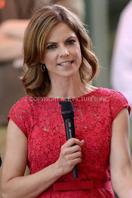 WWW.ACEPIXS.COM<br /> May 26, 2014 New York City<br /> <br /> Natalie Morales-Rhodes on NBC Today on Rockefeller Plaza on May 26, 2014 in New York City.<br /> <br /> Please byline: Kristin Callahan/ACE Pictures<br /> <br /> ACEPIXS.COM<br /> <br /> Tel: (212) 243 8787 or (646) 769 0430<br /> e-mail: info@acepixs.com<br /> web: http://www.acepixs.com