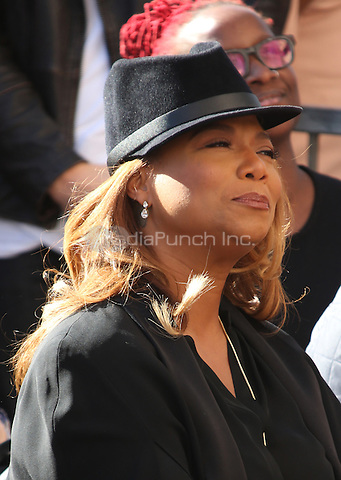 "Hollywood, CA - DECEMBER 02: Queen Latifah, At Lee Daniels Honored With Star On The Hollywood Walk Of Fame"" At Pacific Theatres at the Hollywood Walk Of Fame, California on December 02, 2016. Credit: Faye Sadou/MediaPunch"