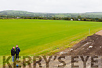Field of Dreams: Patrick O'Sullivan Chairman and Tim Murphy County Develeopment officer inspect the three full size pitches in Currans which are now playable