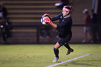 STANFORD, CA - September 27, 2018: Alison Jahansouz at Stanford Stadium. The Stanford Cardinal defeated the UCLA Bruins, 3-2.