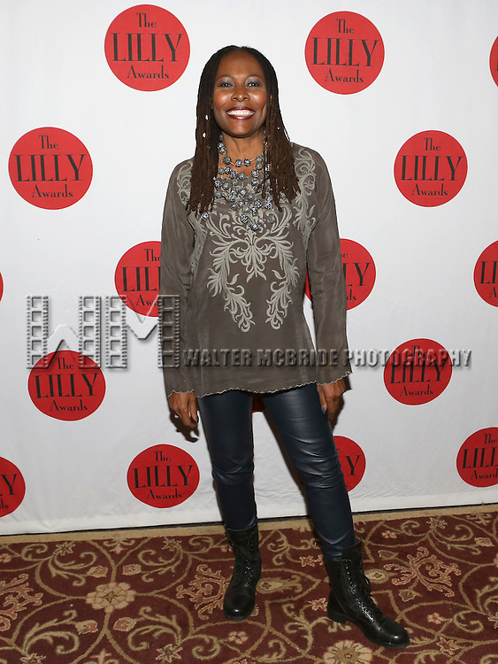 Brenda Russell backstage at The Lilly Awards Broadway Cabaret'   at The Cutting Room on November 9, 2015 in New York City.