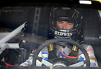 Sept. 20, 2008; Dover, DE, USA; Nascar Sprint Cup Series driver Marcos Ambrose during practice for the Camping World RV 400 at Dover International Speedway. Mandatory Credit: Mark J. Rebilas-