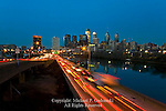 Philadelphia Skyline at Night , Philadelphia, Pennsylvania