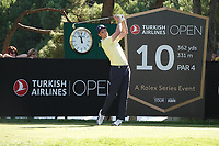 Ross Fisher (ENG) during the first round of the Turkish Airlines Open, Montgomerie Maxx Royal Golf Club, Belek, Turkey. 07/11/2019<br /> Picture: Golffile | Phil INGLIS<br /> <br /> <br /> All photo usage must carry mandatory copyright credit (© Golffile | Phil INGLIS)
