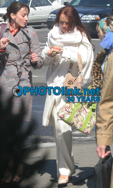 New York City<br /> CelebrityArchaeology.com<br /> 2005 FILE PHOTO<br /> Lindsay Lohan & Samaire Armstrong<br /> Photo by John Barrett-PHOTOlink.net<br /> -----<br /> CelebrityArchaeology.com, a division of PHOTOlink,<br /> preserving the art and cultural heritage of celebrity <br /> photography from decades past for the historical<br /> benefit of future generations.<br /> ——<br /> Follow us:<br /> www.linkedin.com/in/adamscull<br /> Instagram: CelebrityArchaeology<br /> Twitter: celebarcheology