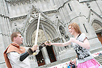 Annagassan Viking Festival Demonstration at St Peters Church