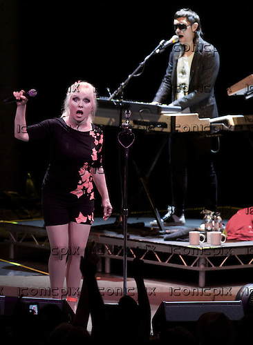 BLONDIE - vocalist DEBBIE HARRY- performing live at The Roundhouse in London UK - 07 July 2013.  Photo credit: Iain Reid/IconicPix