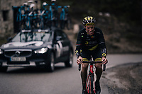 Sylvain Chavanel (FRA/Direct Energie)<br /> <br /> 76th Paris-Nice 2018<br /> Stage 7: Nice > Valdeblore La Colmiane (175km)