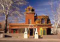 Museum in mansard-style mansion built in 1881. Collections include 19th- and 20th-century local articles and Southwestern Native American artifacts. Silver City New Mexico USA.