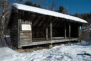 Rocky Branch Shelter #2 is an Adirondack-style shelter located along the Rocky Branch Trail in the Dry River Wilderness of the New Hampshire White Mountains. This shelter has been dismantled and no longer exists.