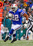 9 December 2007: Buffalo Bills rookie running back Fred Jackson in action against the Miami Dolphins at Ralph Wilson Stadium in Orchard Park, NY. The Bills defeated the Dolphins 38-17. ..Mandatory Photo Credit: Ed Wolfstein Photo