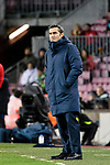 Head Coach Luis Ernesto Valverde of FC Barcelona during the Copa Del Rey 2017-18 match between FC Barcelona and Valencia CF at Camp Nou Stadium on 01 February 2018 in Barcelona, Spain. Photo by Vicens Gimenez / Power Sport Images