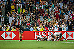 Fiji vs new Zealand during the HSBC Sevens Wold Series Cup Final match as part of the Cathay Pacific / HSBC Hong Kong Sevens at the Hong Kong Stadium on 29 March 2015 in Hong Kong, China. Photo by Victor Fraile / Power Sport Images