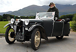 Trevor Hunt, Herefordshire, with a 1932 BSA TW32 vintage car, taking part in  the 43rd Irish National Vintage Motorcycle Assembly in Killarney on Tuesday.  Picture: Eamonn Keogh (MacMonagle, Killarney)
