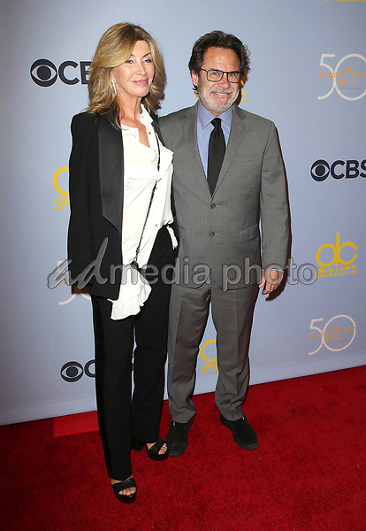 "04 October 2017 - Los Angeles, California - Carolyn Espley, Dennis Miller. CBS ""The Carol Burnett Show 50th Anniversary Special"". Photo Credit: F. Sadou/AdMedia"