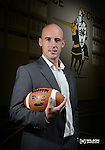 St. Norbert College's new head football coach Steve Opgenorth on January 30, 2014.