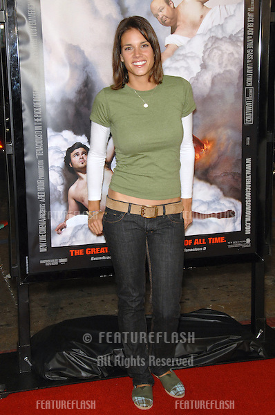 """MISSY PEREGRYM at the Los Angeles premiere of """"Tenacious D in The Pick of Destiny""""..November 9, 2006  Los Angeles, CA.Picture: Paul Smith / Featureflash"""