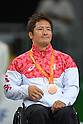 Shinichi Shimakawa (JPN), <br /> SEPTEMBER 18, 2016 - WheelChair Rugby : <br /> Medal Ceremony <br /> at Carioca Arena 1<br /> during the Rio 2016 Paralympic Games in Rio de Janeiro, Brazil.<br /> (Photo by AFLO SPORT)