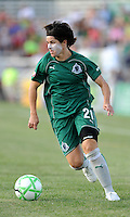 Sara Walsh..Saint Louis Athletica tied 1-1 with F.C Gold Pride, at Anheuser-Busch Soccer Park, Fenton, Missouri.